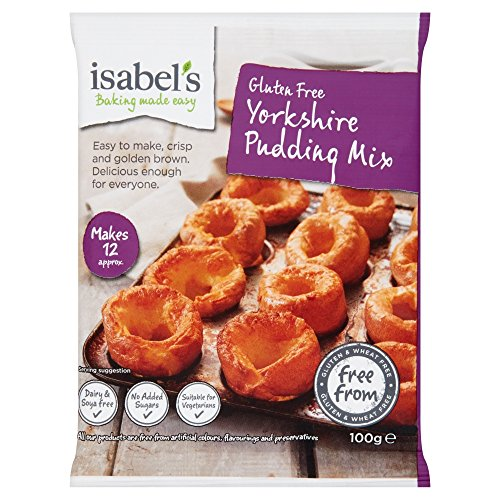 Isabel's Naturally Free From Natural Yorkshire Pudding Mix Gluten Free 3.52oz