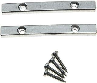 yotijar 2Pcs String Retainer Bar Guitar Tremolo System Retainer Bar Parti Di