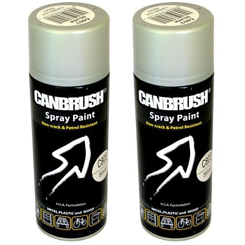 2 x CANBRUSH Spray Paint - For Metal...