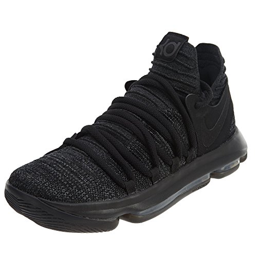 Nike Zoom KD10 Herren Basketballschuhe schwarz/schwarz-dunkelgrau 897815-004 (8 D(M) US)