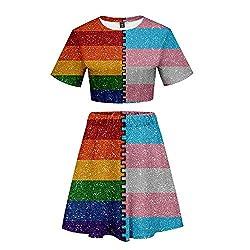 ❤ Parata dell'orgoglio LGBT o marcia per manifestare o protesta per l'uguaglianza di genere? Ecco il perfetto abbigliamento LGBTQ Pride con la bandiera LGBT per il mese della Consapevolezza LGBT se sei lesbica, gay, bisessuale o transessuale. ❤ Mater...