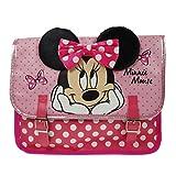 Minnie Mouse Satchel Schulranzen, 32 cm, Rosa (Pink)