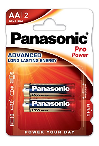Panasonic Alkaline Blister 2Batterien AA LR6Pro Power