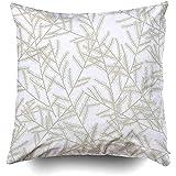 IUBBKI 1 funda de almohada de 18 x 18 pulgadas, fundas de almohada para sofá Zag zig, chevron, patrón verde, fondo de ángulo abstracto, tarjeta de color clásico