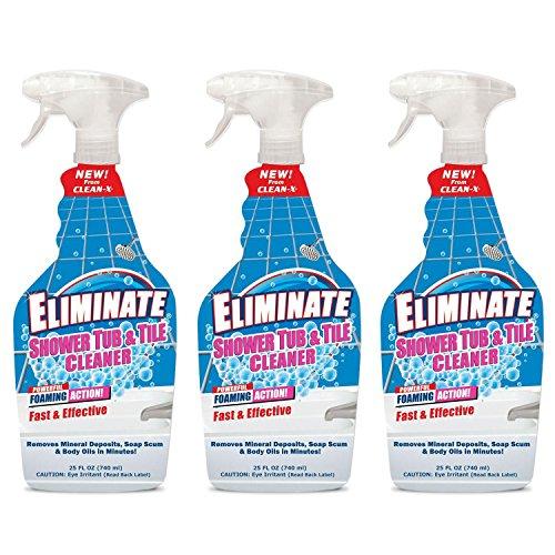 shower glass cleaner Eliminate