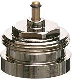 Eurotronic 700100 Herz Metalladapter für elektronische Heizkörperthermostate, Metall