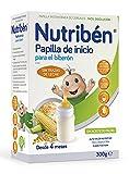 Nutribén Papilla Inicio Biberón Vitaminas y Calcio - 300 gr