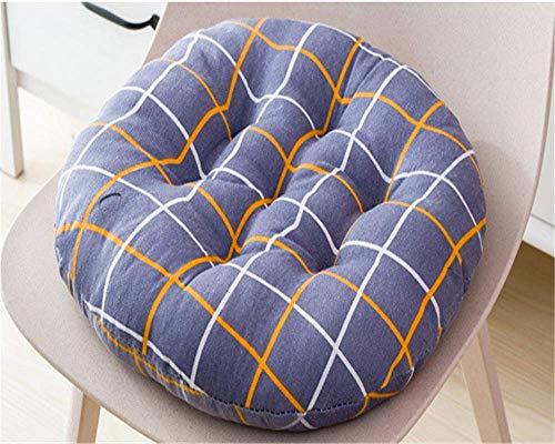 YXB 2er Set Sitzkissen Indoor Outdoor Kissen f & uuml; r Stuhl Lounge Kissen Stuhlkissen mit B & auml; nder Stuhlauflage Sitzpolster Auflage f & uuml; r St & uuml; hle in Haus in Garten (Gris, 5