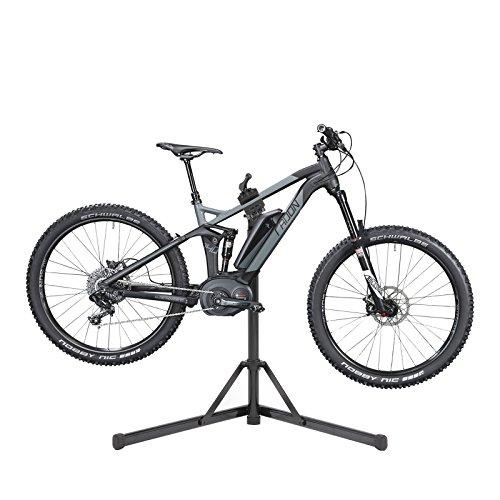 Contec Fahrrad Montageständer eBike Set Rock Steady, Traglast: ca. 30 kg, Klemme 360° rotierbar, (H/B/T) ca. 100x104x82 cm (Aufgebaut) inkl. Werkzeugschale - 3