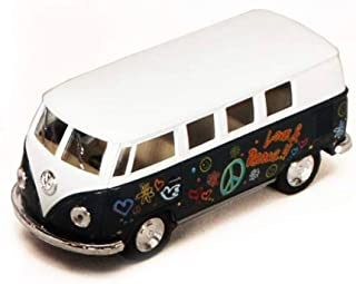 1962 Volkswagen Classic Bus with Decals 1/32 scale Die Cast Model Toy Car - GREEN