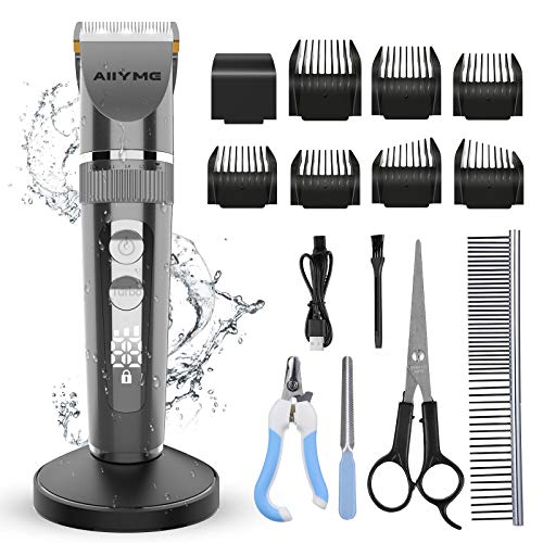AIIYME Dog Clippers, Professiona...