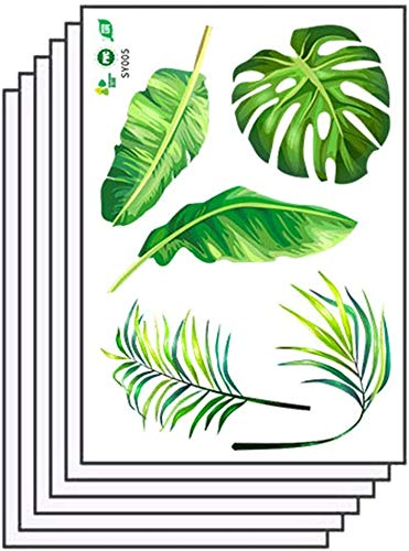 Preisvergleich Produktbild Zhongyanxin Tropisch Grün Kindergarten Umgebung Layout Party Dekoration DIY Wand Sticker für Wand,  Boden Aufkleber,  Klassenzimmer Heim Party Dekoration - H02
