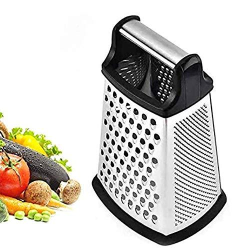 CUIZC Cuchillas laterales de acero inoxidable, para cocer y rebabas finas, para frutas, verduras, carrots, queso y lavavajillas.
