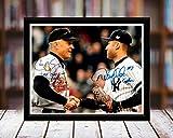 Derek Jeter and Cal Ripken - Last Game At Yankee...
