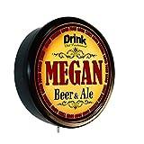 Goldenoldiesclocks Megan Beer and Ale Cerveza Lighted Wall Sign