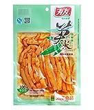 Helen Ou@chongqing Specialty: Youyou or Yuyu Pickled Fresh Bamboo Crisp Mountain Pepper Flavor Snack Appetizer...