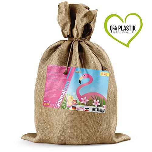 animalone - Pferdeleckerlis Flamingo - 5 kg im Jutebeutel - Die gesunde Belohnung
