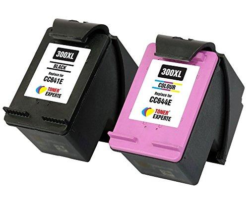TONER EXPERTE® 2er Set Druckerpatronen kompatibel für HP 300XL Photosmart C4780 C4680 Deskjet D1660 D1663 D2530 D2545 D2560 D2563 D2660 D5560 F2400 F2420 F2480 F4210 F4230 F4240 F4272 F4280 F4580