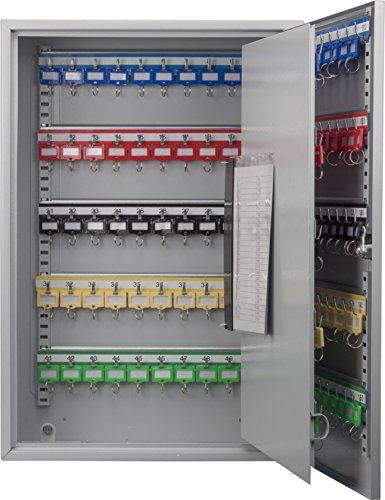 BARSKA CB13236 Key Lock 150 Position Adjustable Key Cabinet Lock Box Grey