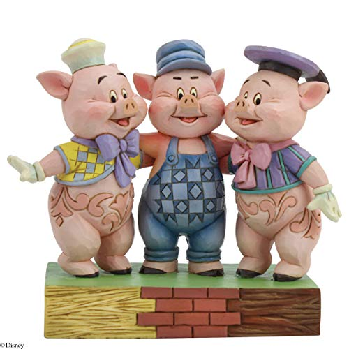 Disney Traditions, Figura de los 3 Cerditos, Enesco