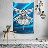 Fairy Tail Wall Tapestry Erza tapestry Decorative Tapestry for Bedroom and Living Room 60x40 in