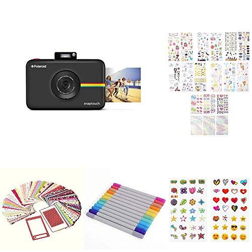 Polaroid Snap Touch - Cámara Digital con impresión instantánea, Negro + Set Regalo