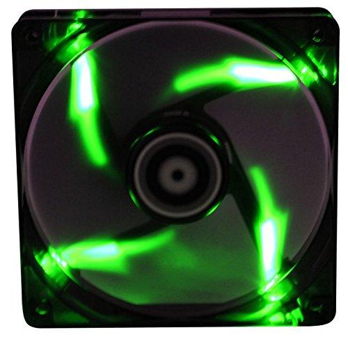 BitFenix Spectre 140mm Lüfter grün LED schwarz