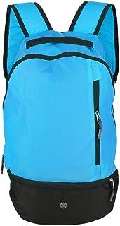 Color : Azul HaiQianXin Mochila Multifuncional del bal/ón de f/útbol del Bolso de los Hombros del f/útbol de 2 Colores para los Deportes al Aire Libre