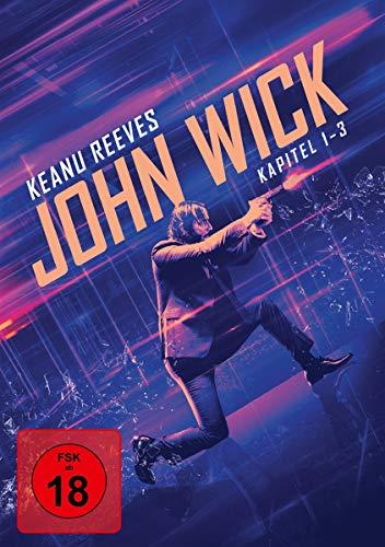 John Wick - Kapitel 1-3 [3 DVDs]