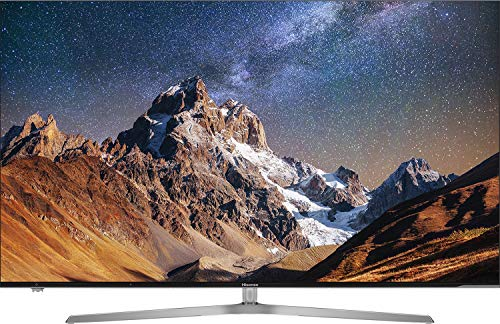 Hisense H55U7A - TV Hisense 55' ULED 4K Ultra HD, HDR Perfect, Smart TV VIDAA U, Local Dimming, Diseño metálico sin marcos,...