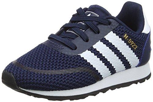 Adidas Babys Jungen N-5923 Sneaker, Blau (Maruni/Ftwbla / Gritre 000), 23 EU