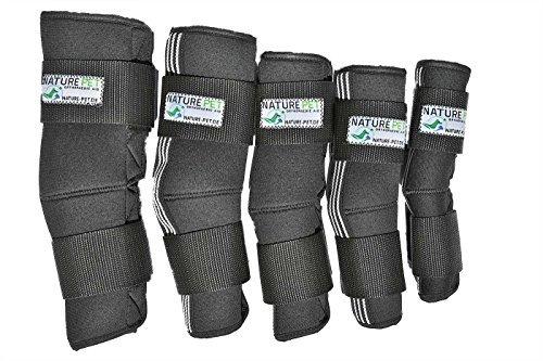 NATURE PET Sprunggelenk Schutz Bandage 165° Winkel für Hunde/Tarsalgelenk Bandage für Hunde (XXS)