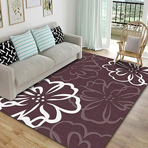 PANGLDT tapijten woonkamer grote tapijt -Nordic salontafel home mat 5 tapijt anti slip ondervloer slaapkamer kinderen gang tapijt