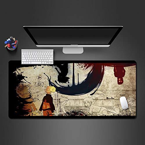 JIACHOZI Alfombrilla de Raton Gaming Retro Anime Ninja Personajes 800×400×3mm Alfombrilla de Ratón Grande, Alfombrillas Gaming Raton Ordenador XXL Mouse Pad, Almohadilla de Escritorio Grandes Alfombr