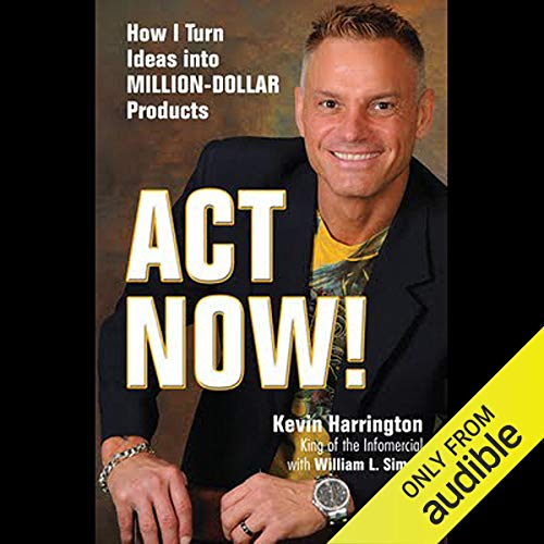 Act Now audiobook cover art
