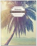DÉKOKIND Reisetagebuch: DIN A4, 100+ Seiten, Register, Vintage Softcover | Auch als Abschiedsgeschenk | Motiv: Holiday Dreams