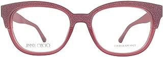 Jimmy Choo Plastic Cat Eye Eyeglasses 51 01V1 Cherry Glitter