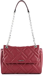 Calvin Klein Quilt EW Convertible Flap Xbody Red Currant