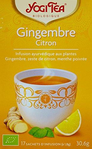 Yogi Tea Gingembre Citron 17 Sachets - BIO