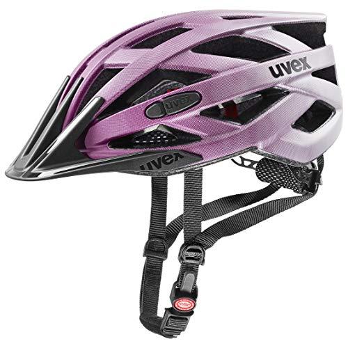 uvex Unisex– Erwachsene, i-vo cc Fahrradhelm, berry matt, 52-57 cm