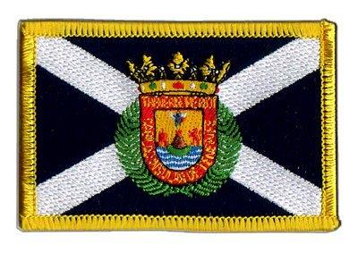 Flaggen Aufnäher Spanien Teneriffa Fahne Patch + gratis Aufkleber, Flaggenfritze®