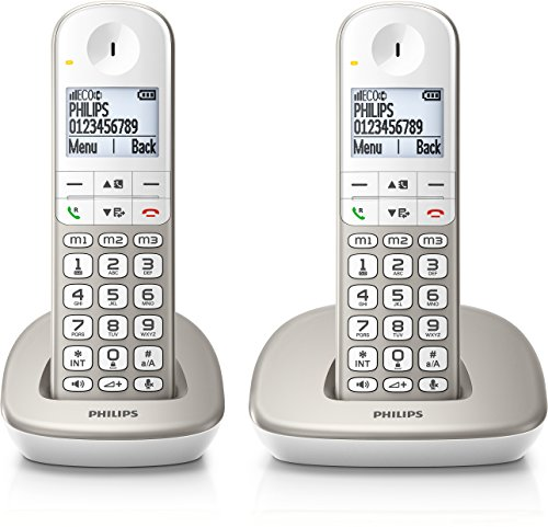 Philips XL4951S/FR Téléphone Fixe...