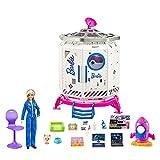 Barbie Set de juego Estación Espacial Muñeca con accesorios de juguete, regalo para...