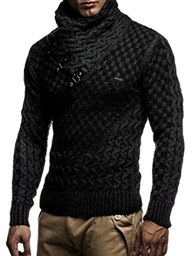 Leif Nelson pour des Hommes Pullover Pull en Tricot Hoodie Sweatshirt arrêtez-Vous Manche Longue...