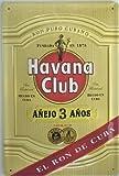 Havana Club Rum 'el Ron de Cuba letrero metálico con (Hi 2030PT)