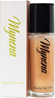 Long Lasting Makeup Setting Spray Dewy Finish Fine Mist Non Sticky - Champagne