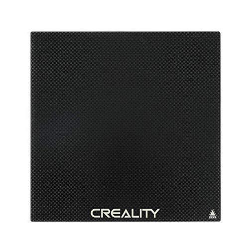 Ender 3 Glasplatte, Creality Ender 3 Upgrade Glasdruckbett mit Mikroporöser Beschichtung 3D Drucker Glasplattform for Ender 3 Pro/Ender 3 V2, 235 x 235 x 4 mm