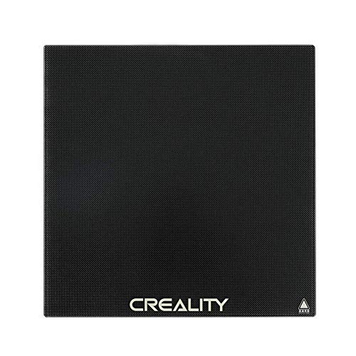 Comgrow Creality 3D Printer Plateform Tempered Glass Bed Heat Bed Build Surface Plate 235x235mm for Ender 3, Ender 3 Pro, Ender 5, Ender 5 Pro