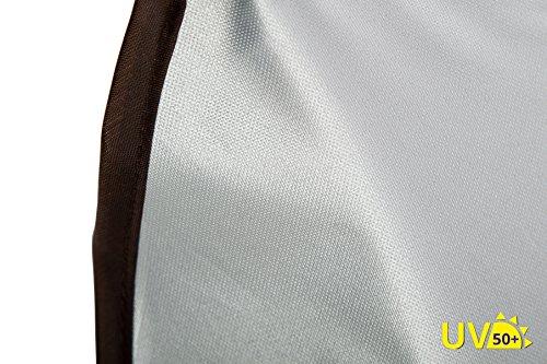 AltaBeBe Ombrelle Anti Soleil pour Poussette Universel Anti-UV 50+ Noir