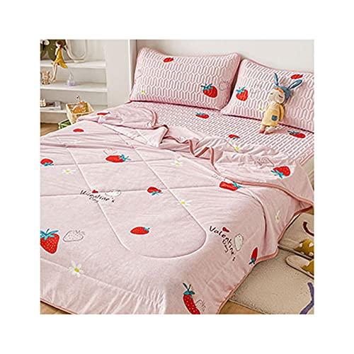 Materasso per Dormire in Seta di Ghiaccio per Felpe Notturne,Quilt:150x200cm
